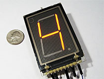NEO5000 Gas Discharge Display (Unknown Mfr.) Panaplex Nixie Display