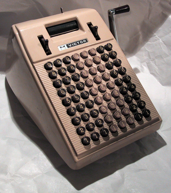 Victor 6834 Adding Machine