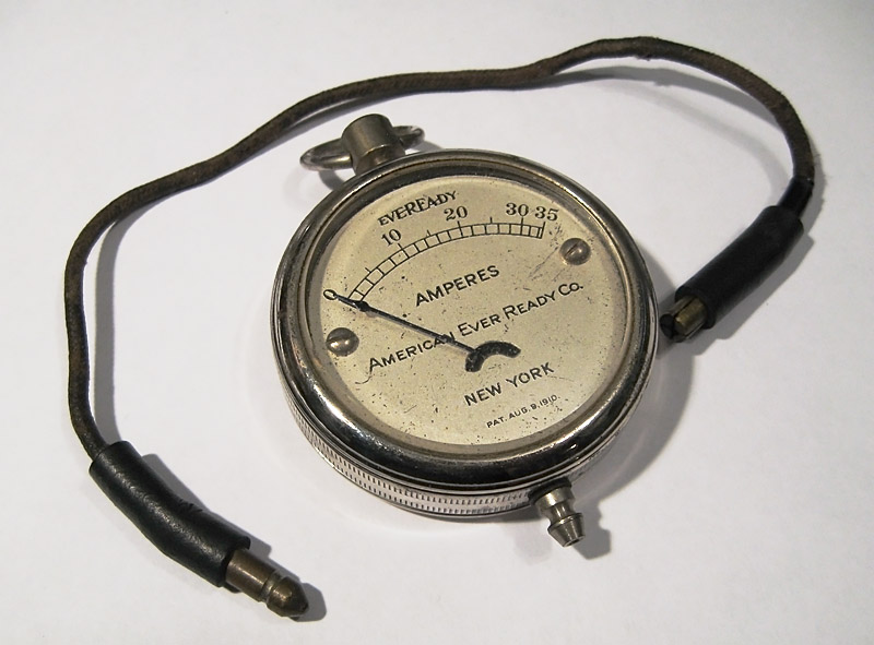 Eveready Pocketwatch Meter