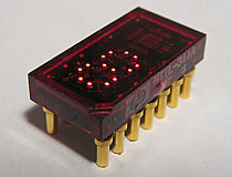 Texas Instruments TIL311 LED Display (HTIL-311A)