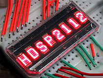Hewlett-Packard HDSP-211x Series LED Displays