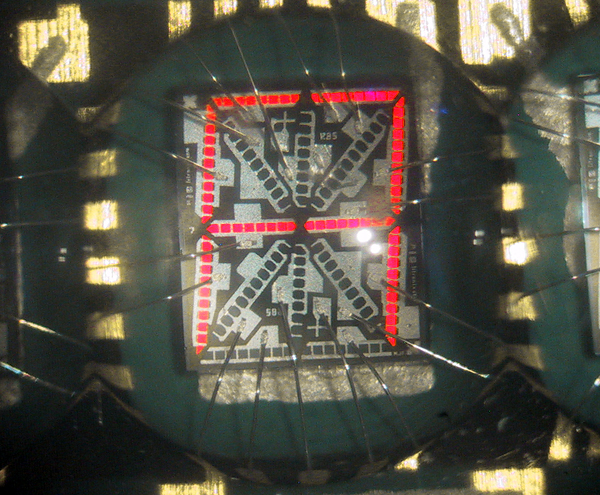 DL1414 Alphanumeric LED Die