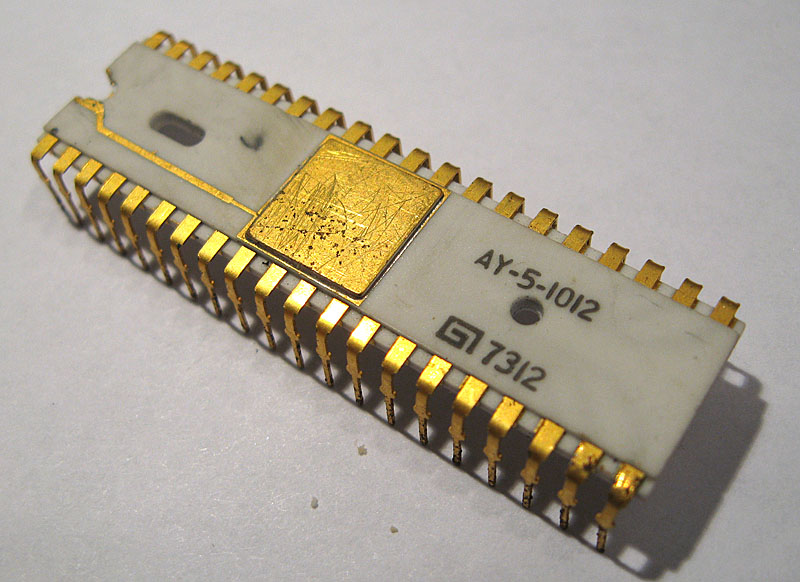 General Instrument AY-5-1012 Integrated Circuit