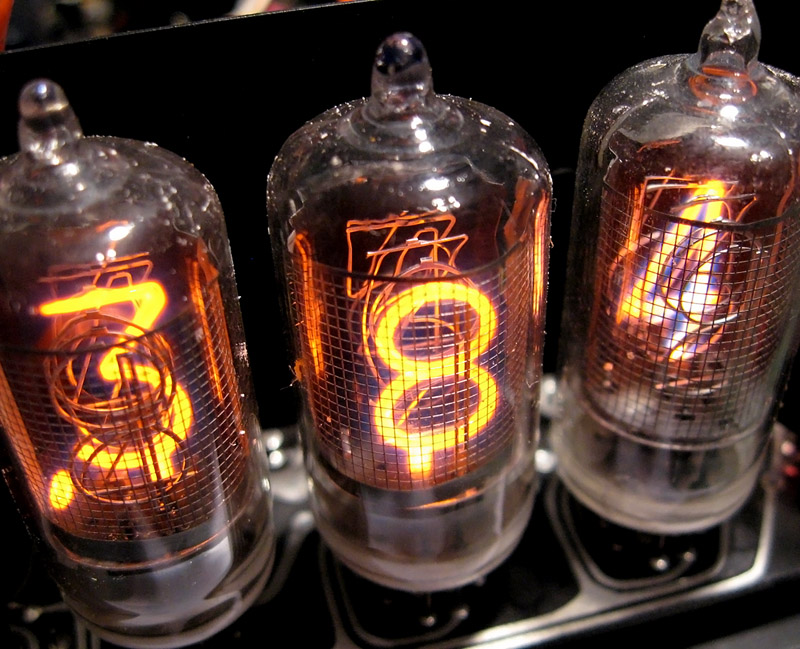 Amperex ZM1000 Nixie Tube Display